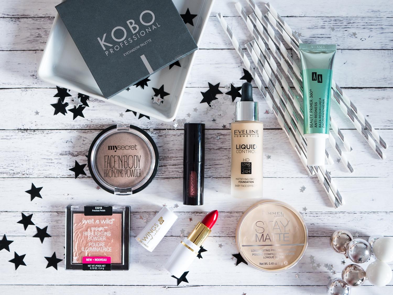 Ulubieńcy 2017 roku kosmetyki drogeryjne