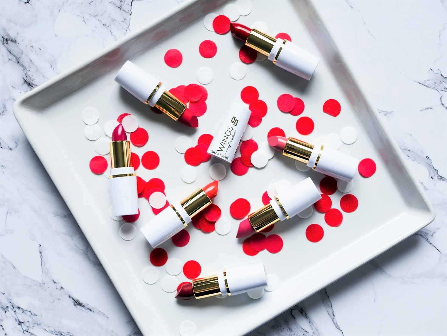 AA Wings of Colors Comfort Matte & Color Creme Lipstick