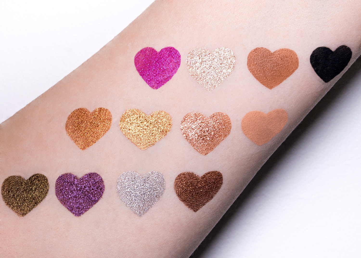 Too Faced Chocolate Gold swatch