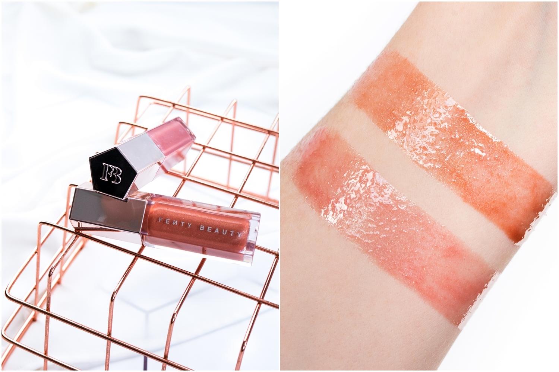 Fenty Beauty | Gloss Bomb Universal Lip Luminizer w odcieniu Fenty Glow oraz FU$$Y
