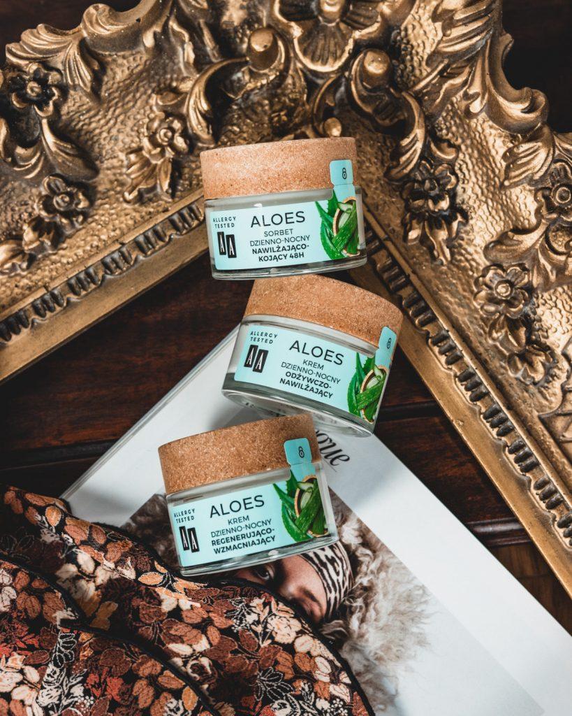 AA Aloes 100% aloe vera extract sorbet i kremy