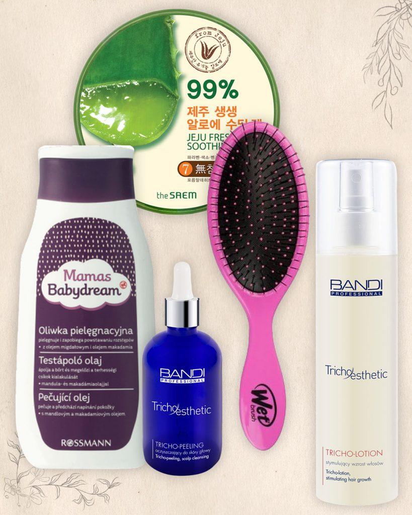 pielęgnacja włosów rytuały olejowanie i peeling