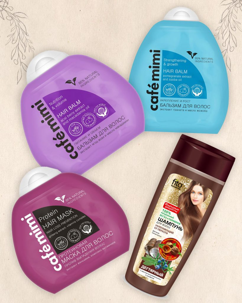 Rosyjskie kosmetyki do pielęgnacji włosów - ulubieńcy 2020