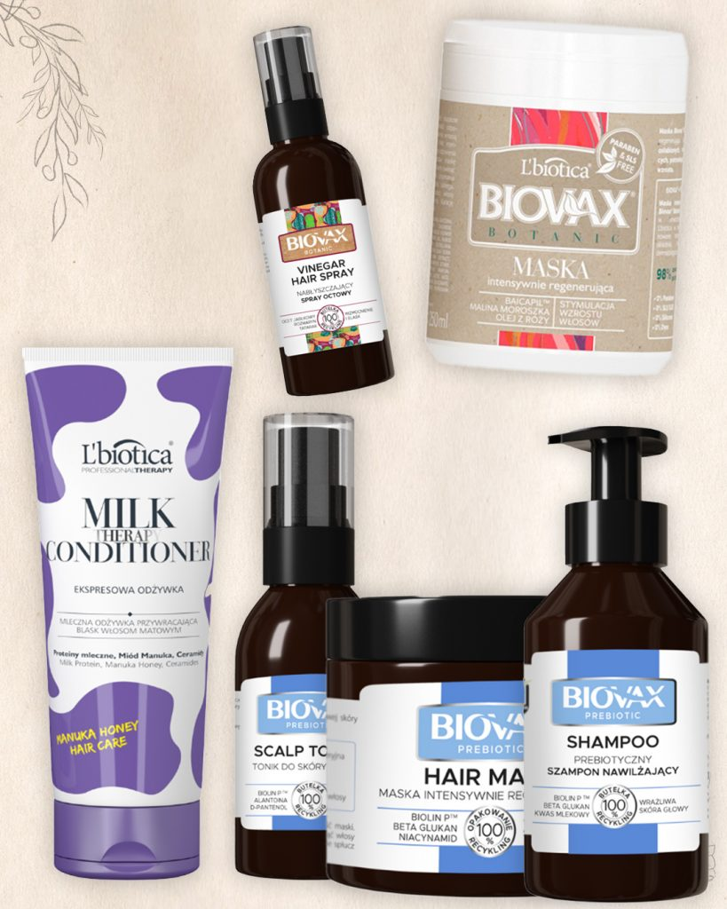 ulubieńcy marki Biovax - pielęgnacja włosów