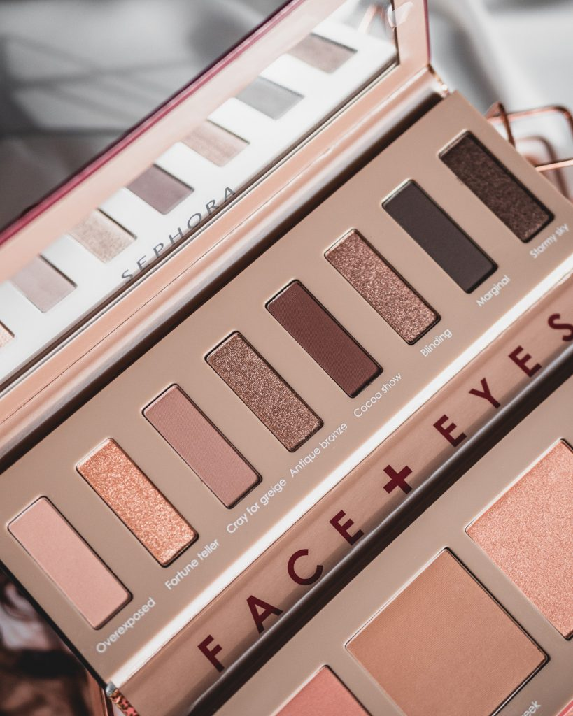 Sephora Collection Eyes & Face Palette Bronze Spectrum